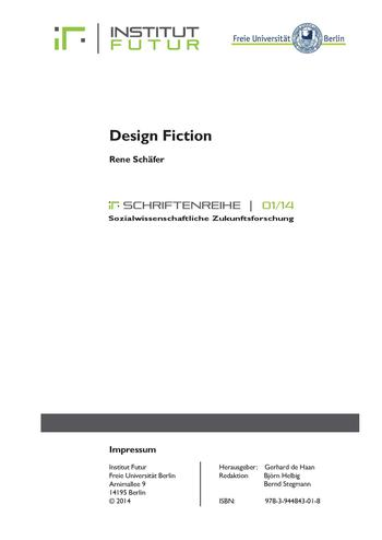 IF-Schriftenreihe_0114_Schäfer_Design Fiction