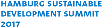 Logo Hamburg Sustainable Development Summit